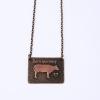 Barn Sanctuary Necklace Closeup