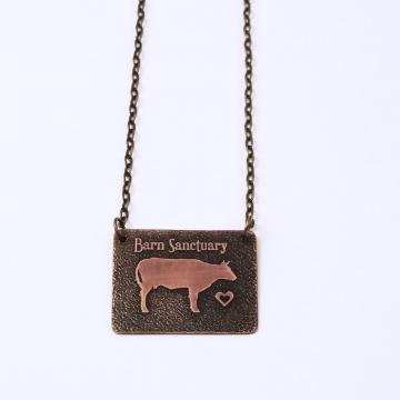 Barn Sanctuary Cow Necklace